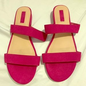 Stylish Magenta Sandals